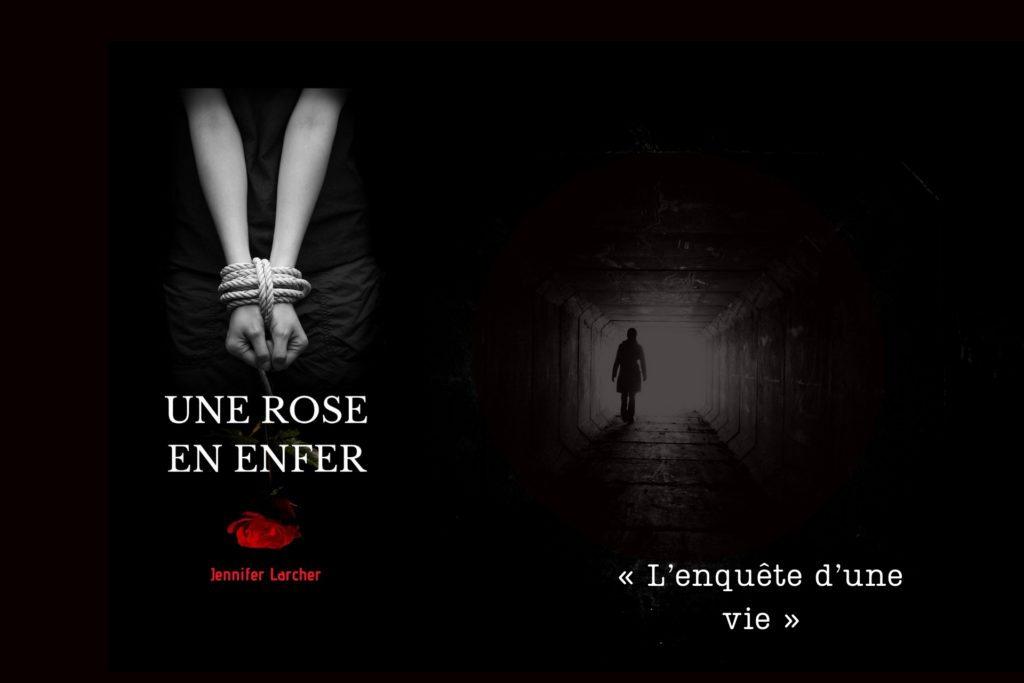 Une rose en enfer pochette